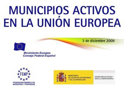 Jornada del CFEME Municipios Activos en la Unión Europea
