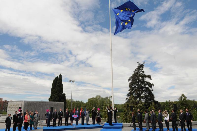 Más visitantes que nunca para celebrar el día de Europa