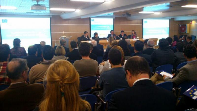 Íñigo Méndez de Vigo presentó la Aplicación desarrollada expresamente por el Movimiento Europeo con motivo de la EYCA