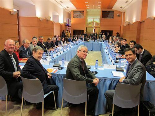 El Movimiento Europeo celebra con Valcárcel el aniversario del Comité de las Regiones