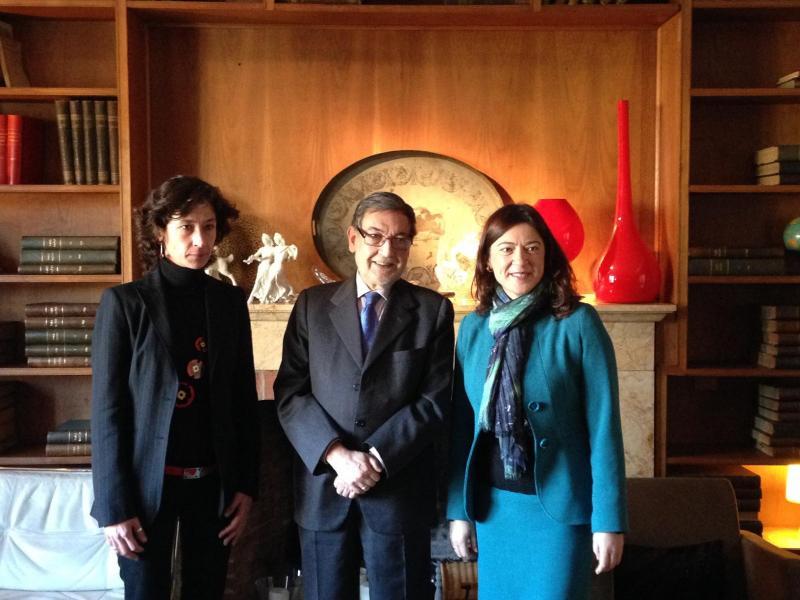Eugenio Nasarre ofreció una ponencia en Santander para impulsar el Consejo Cántabro del Movimiento Europeo
