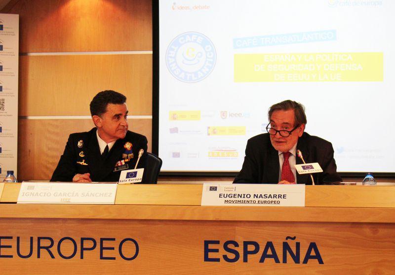 España ante la Seguridad y Defensa en la UE y EEUU