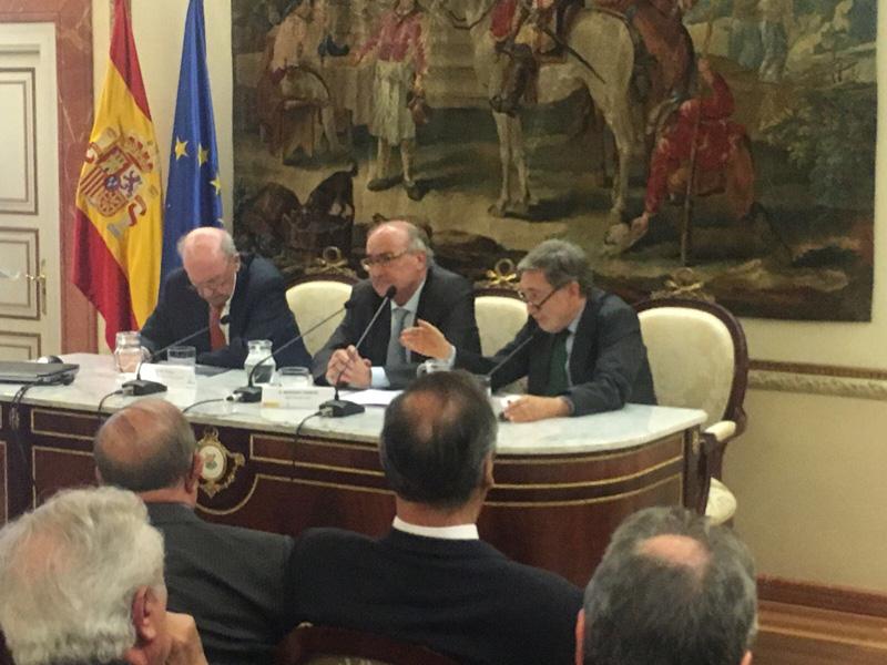 """Presentación del libro """"El legado de Europa"""", de Miguel Artola"""