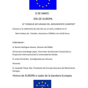 Dia de Europa 2019 Asturias