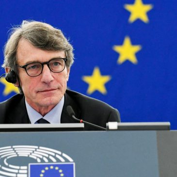 David Maria Sassoli, nuevo presidente del Parlamento Europeo