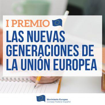 Premio Nuevas Generaciones de la Unión Europea