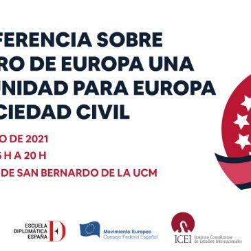 La Conferencia sobre el Futuro de Europa. Una oportunidad para la Unión Europea y su sociedad civil