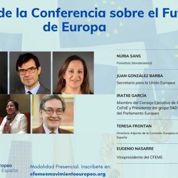El inicio de la Conferencia sobre el Futuro de Europa